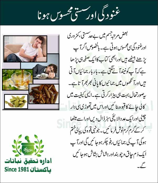 Ghanoodgi-aur-Susti-mehsoos-hona-Tips-in-Urdu