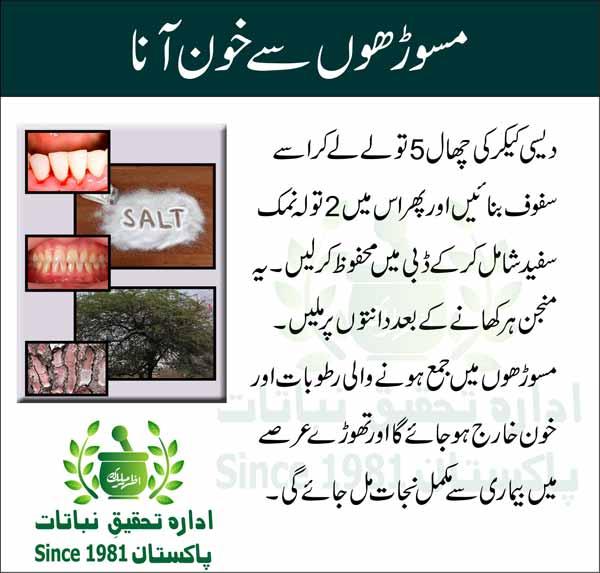 Masoorhon-se-Khoon-ka-Aana-Tips-in-Urdu