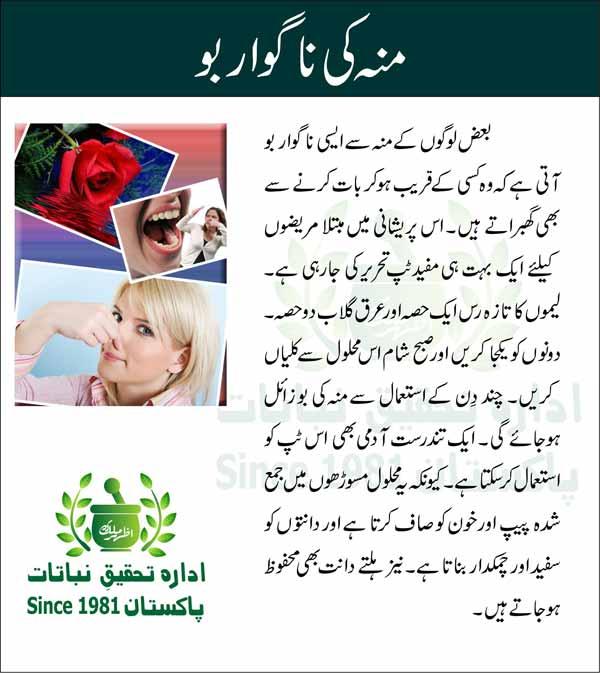 Mon-ki-nagawar-boo-Tips-in-Urdu